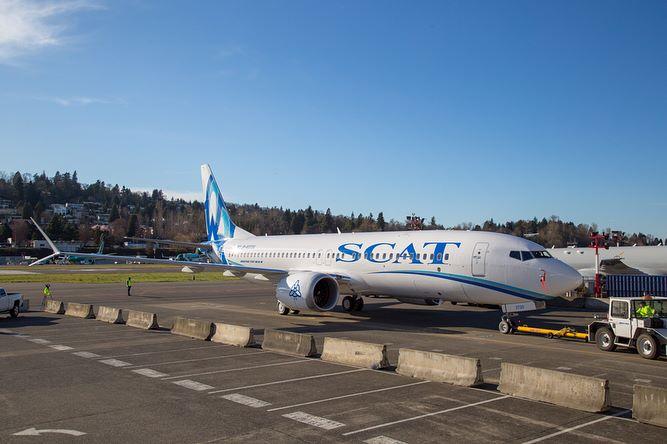 Boeing 737 MAX 8 для авиакомпании SCAT.jpg