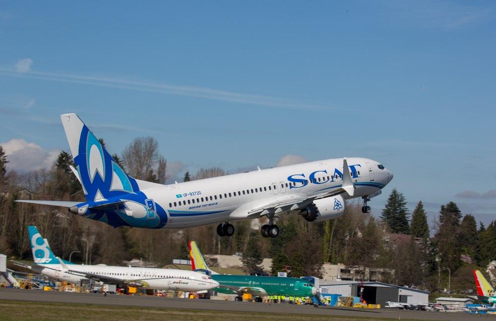 Boeing-737 MAX 8 авиакомпании SCAT (6).jpg