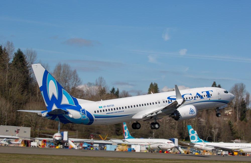 Boeing-737 MAX 8 авиакомпании SCAT (5).jpg