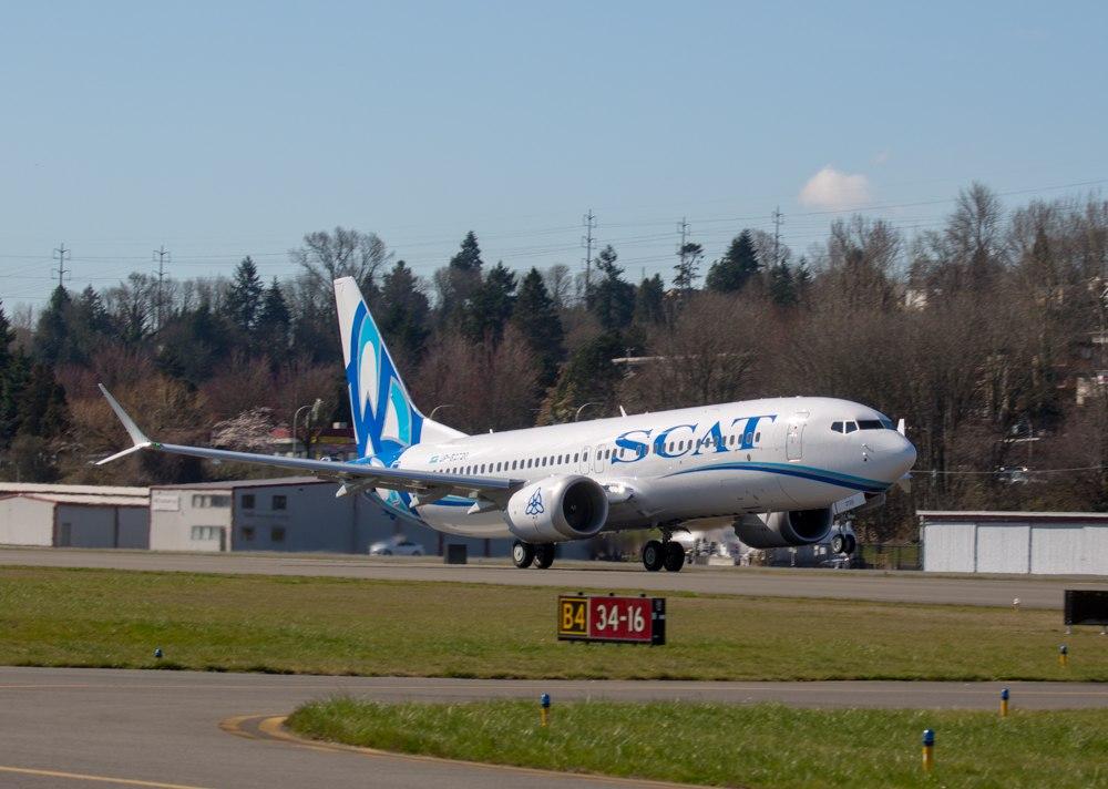 Boeing-737 MAX 8 авиакомпании SCAT (3).jpg