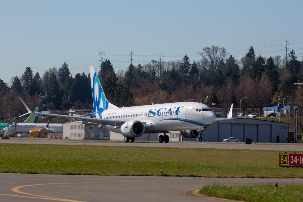 Boeing-737 MAX 8 авиакомпании SCAT (2).jpg