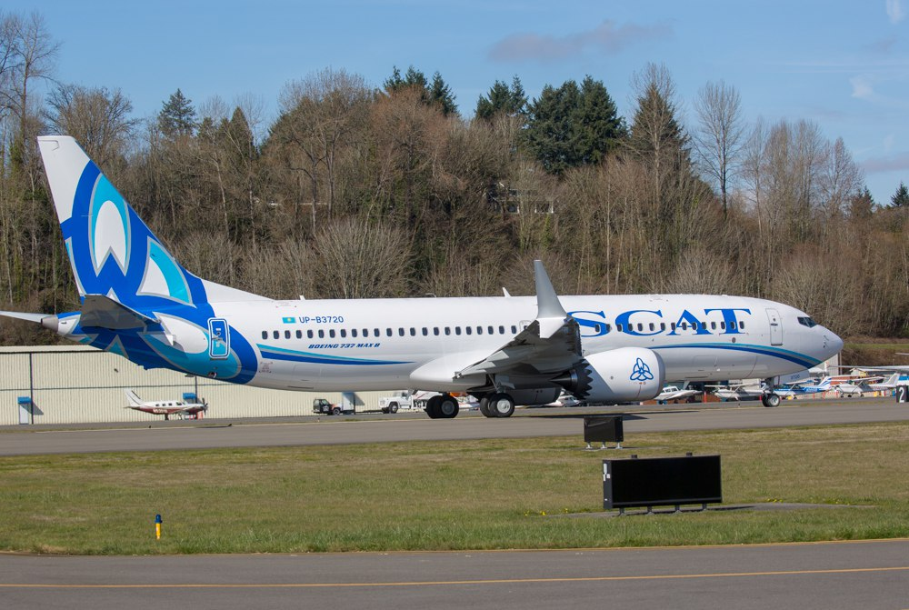 Boeing-737 MAX 8 авиакомпании SCAT.jpg