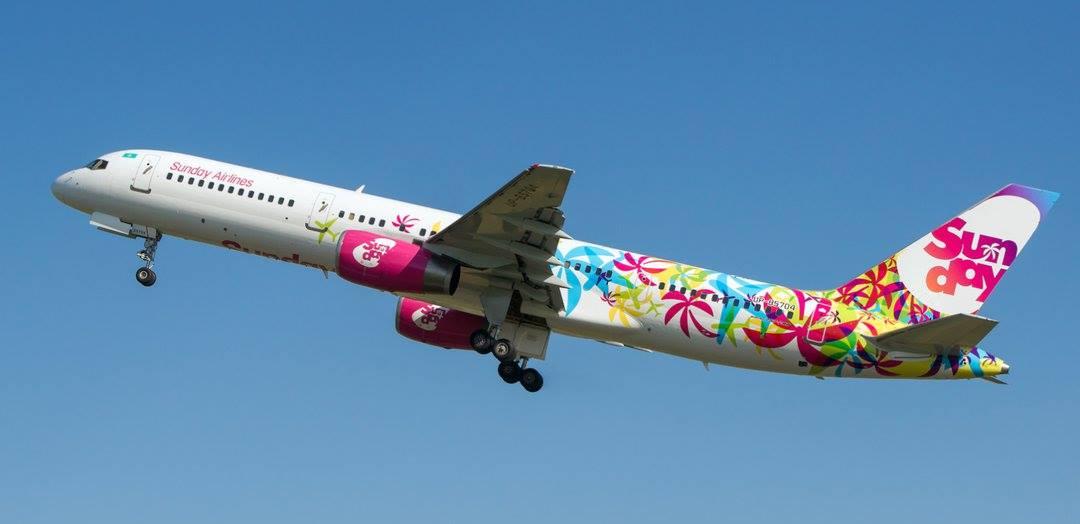 Ливреи Sunday Airlines.jpg