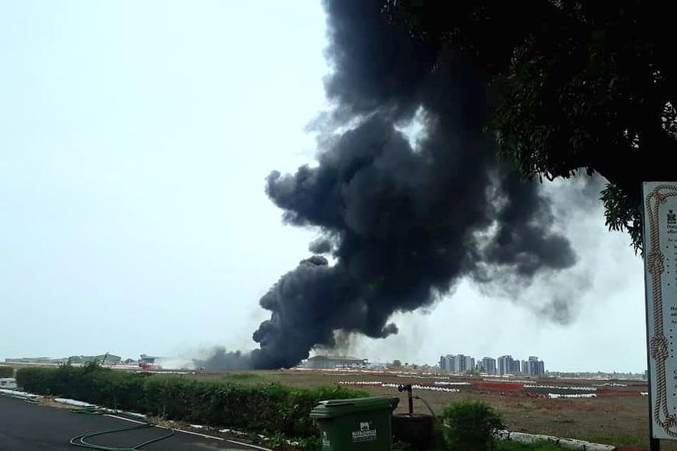 Аэропорт Гоа закрыли из-за инцидента с МиГ-29К и пожара