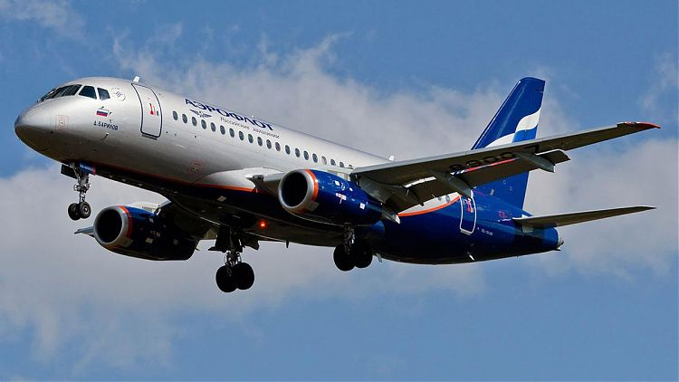 Аэрофлот Sukhoi Superjet 100