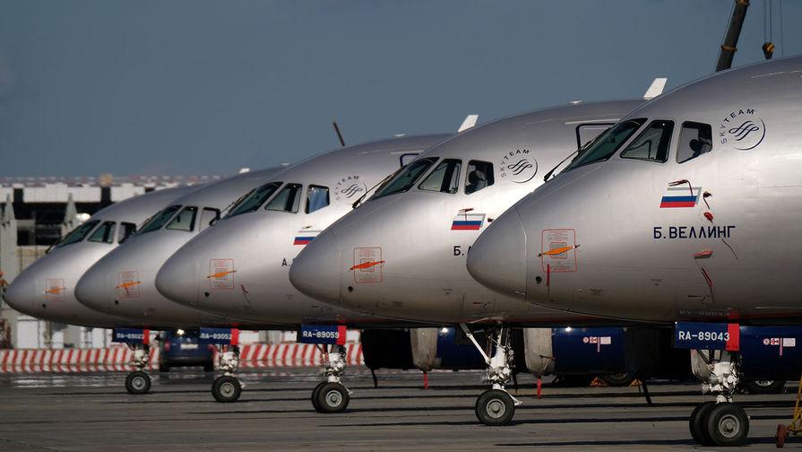 Авиакомпании РФ величили перевозки