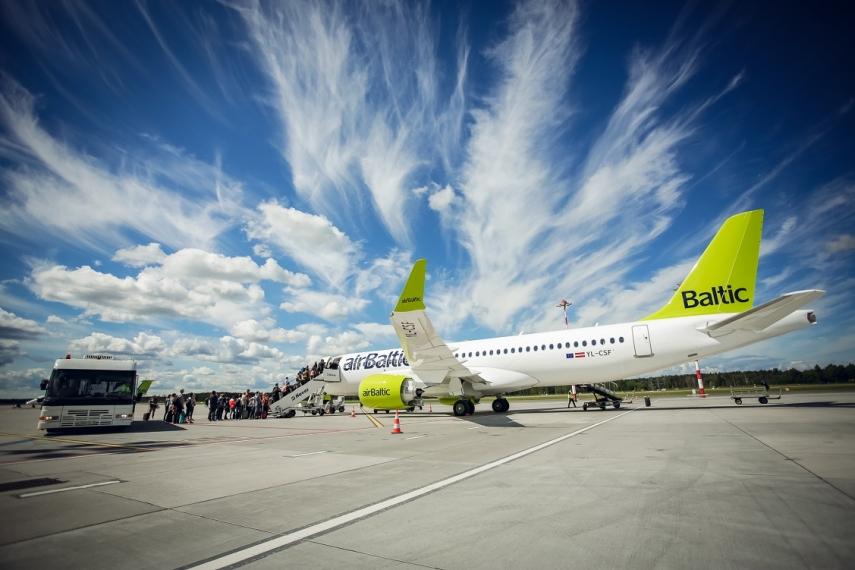 AirBaltic самая пунктуальная авиакомпания в Европе
