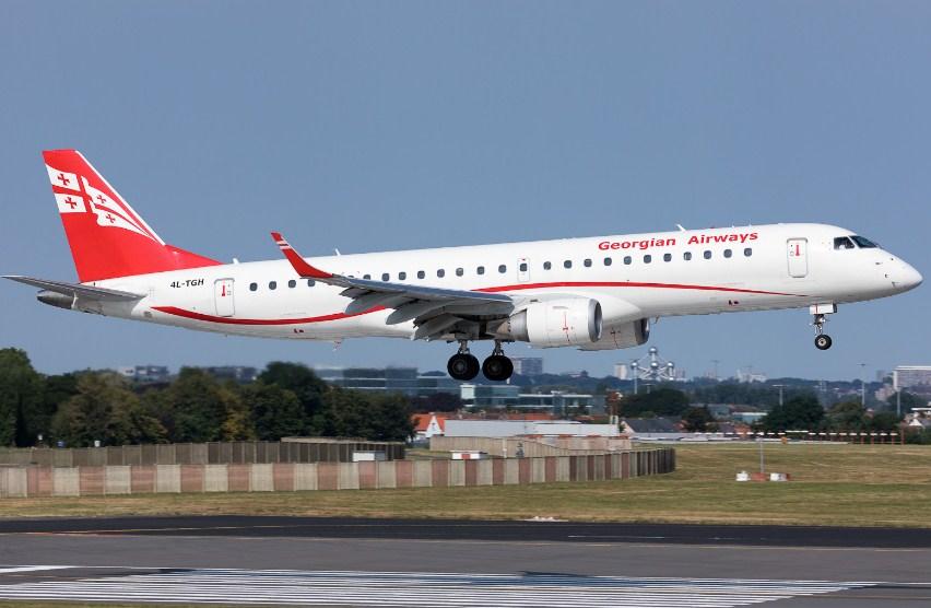 Georgian Airways предложила летать изБашкирии вГрузию через Ереван