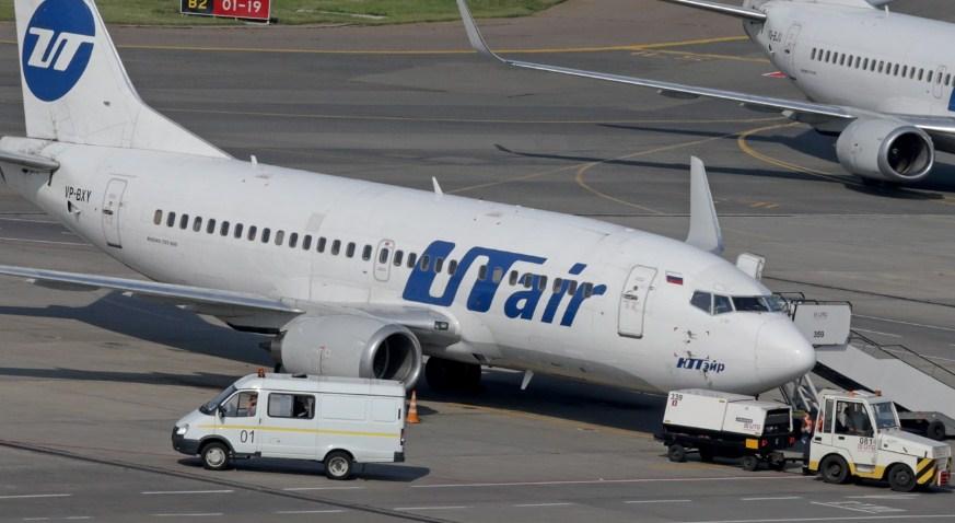 Самолет авиакомпании Utair вернулся в Москву из-за ЧП на борту