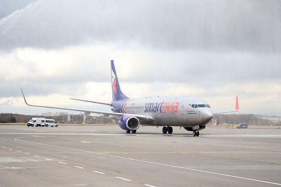 Smartavia запустила прямые авиарейсы из Еревана в Москву и Санкт-Петербург