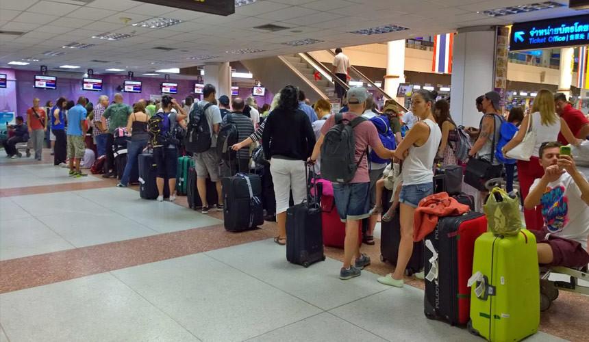 Авиакомпания «Россия» задержала рейс в Таиланде