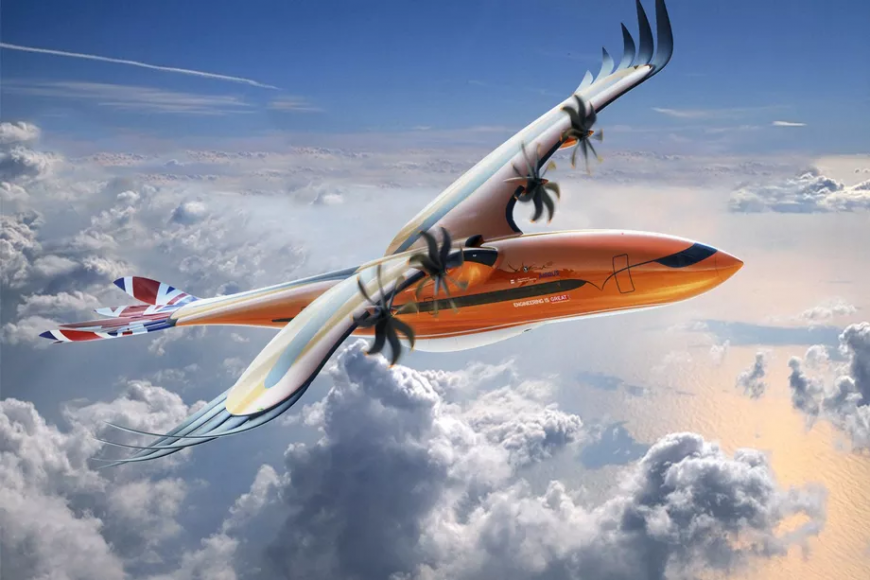 Концепт самолета-птицы Airbus