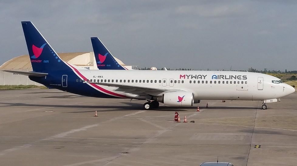 MyWay Airlines ведет переговоры по началу полетов в Москву через Минск