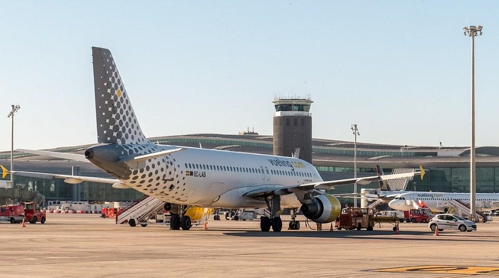 В аэропорту Барселоны отменили рейсы
