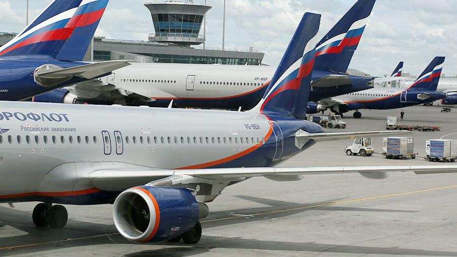 Российские авиакомпании увеличили перевозки за полгода на 12%
