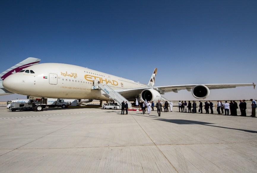 В аэропорту Абу-Даби протестировали работу нового пассажирского терминала