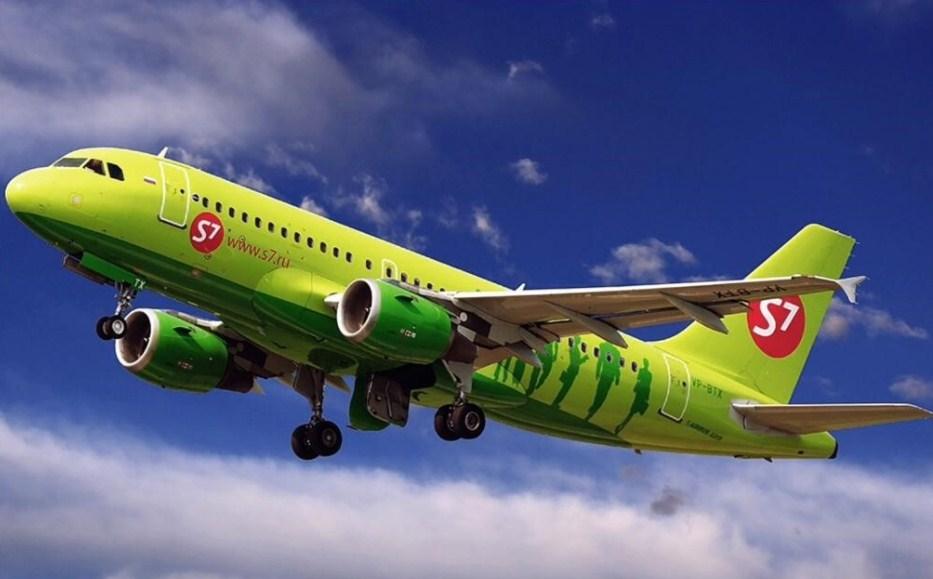 S7 Airlines переименовалась в Сибирь