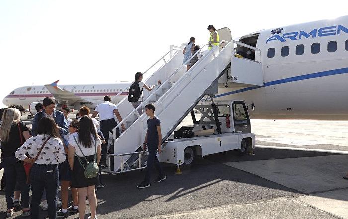 Задержка рейса Барселона-Ереван - в авиакомпании Armenia