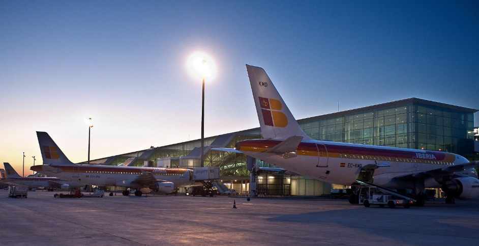 Сбои в работе аэропорта Барселоны Эль-Прат