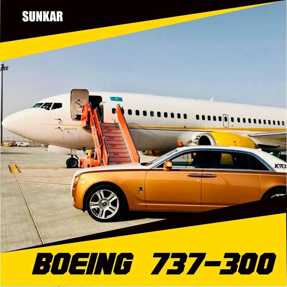 Sunkar Air Боинг 737-300