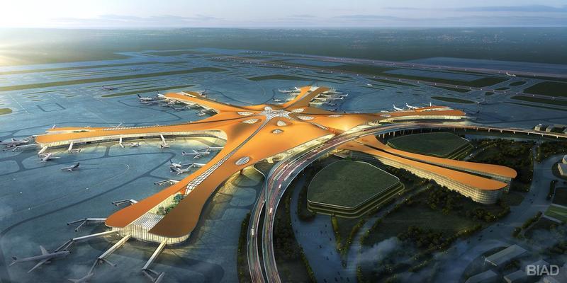 Аэропорт Дасин вПекине