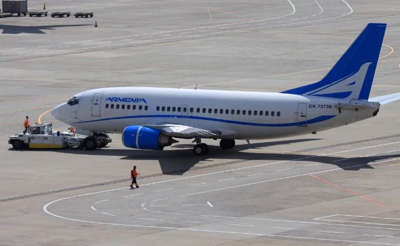 Рейс из Еревана вылетел в Москву после экстренной посадки в Тбилиси