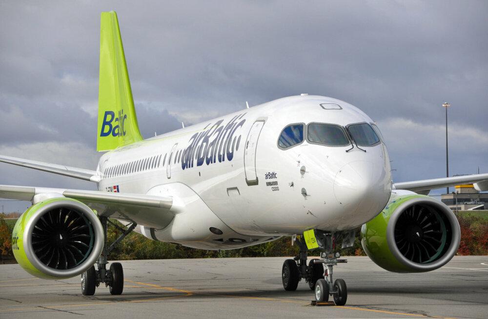 Пассажиропоток Air Baltic