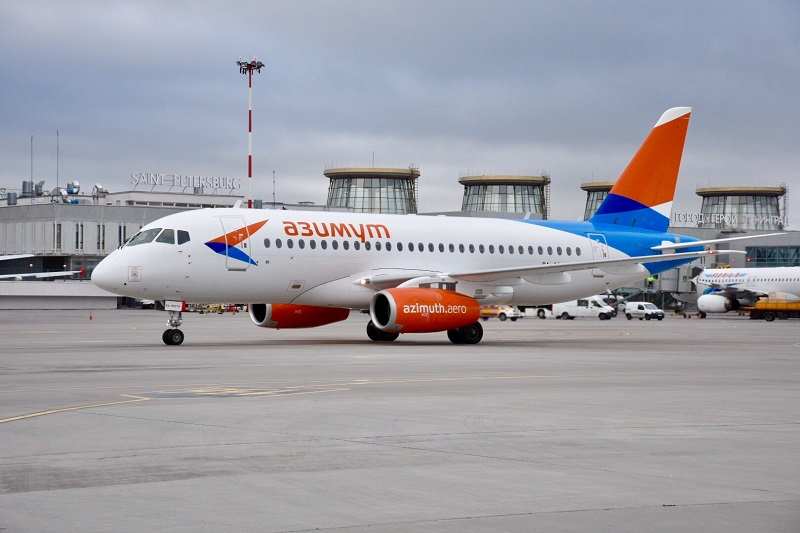 Российская авиакомпания Азимут создаст техническую базу в Армении
