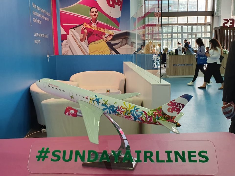 Sunday Airlines на выставке PATA Travel Mart.jpg