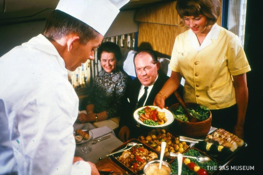 История питание в самолете