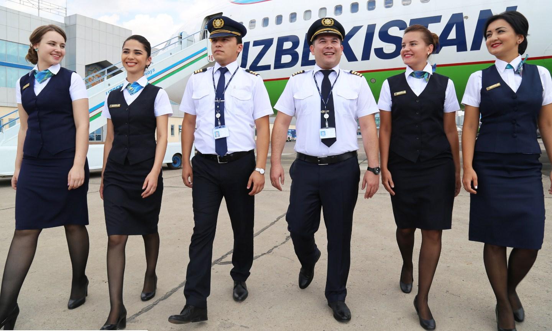 Пилоты Uzbekistan Airways