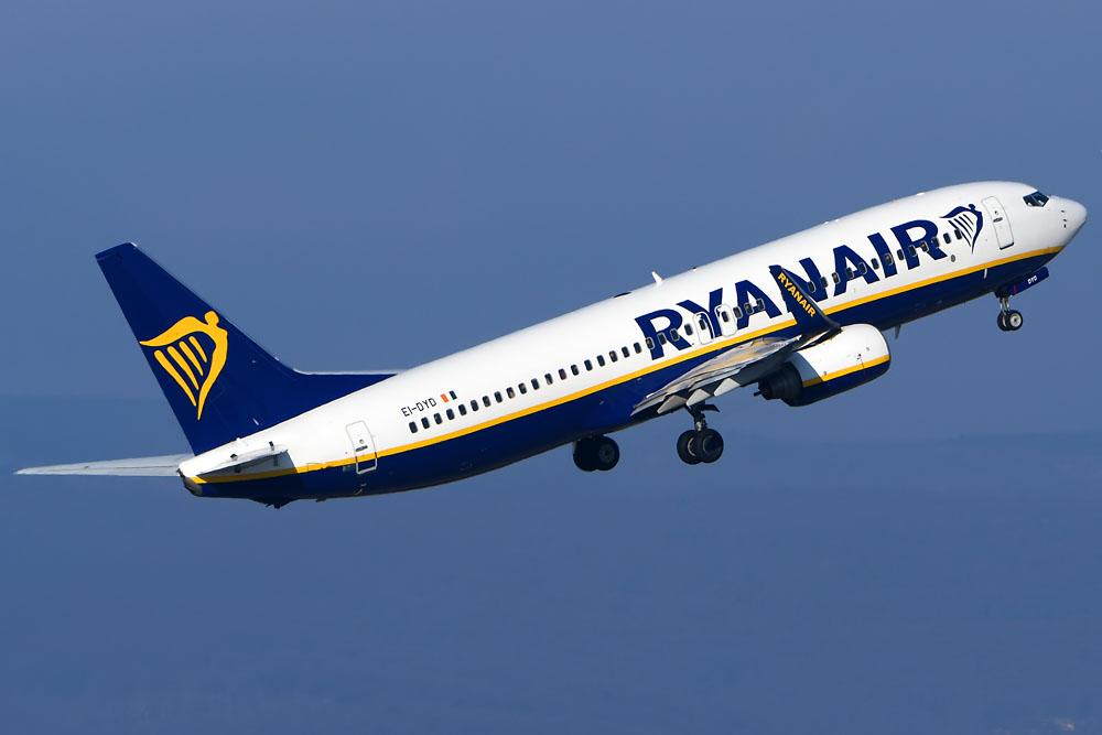 Авиакомпания Ryanair объявила о начале полетов в Армению
