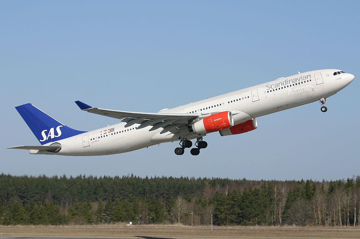 Авиакомпания SAS начала полеты в Украину после 8-летнего перерыва