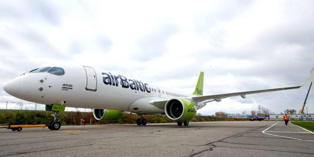 Авиакомпания airBaltic прекращает регулярные рейсы в Калининград