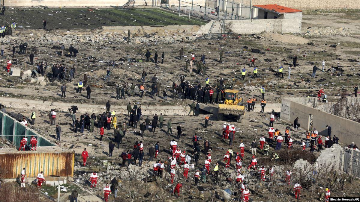 Иран ответил на обвинения в крушении украинского самолета